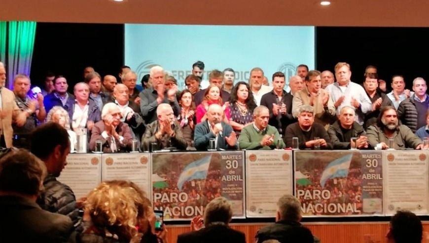 b3383c71a Contra el gobierno y para presionar a la conducción de la CGT. El Frente  Sindical para el Modelo Nacional (de Sergio Palazzo y Hugo Moyano)